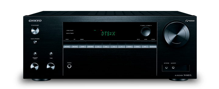 The Onkyo TX-NR575 7.2-Channel Network A/V Receiver