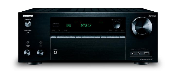 The Onkyo TX-NR777 THX Certified 7.2-Channel Network A/V Receiver