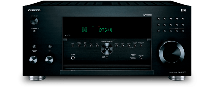 The Onkyo TX-RZ1100 THX certified 9.2-Channel Network A/V Receiver