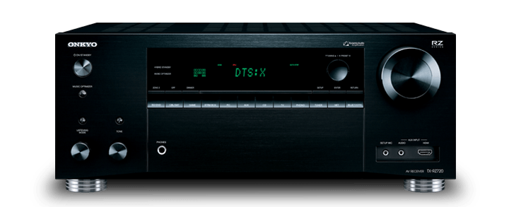 The Onkyo TX-RZ720 THX Certified 7.2-Channel Network A/V Receiver