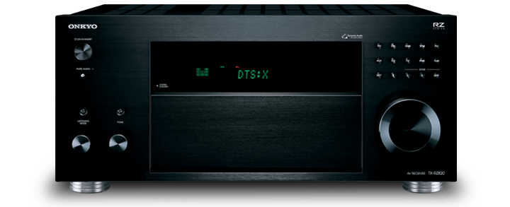 The Onkyo TX-RZ820 THX certified 7.2-Channel Network A/V Receiver