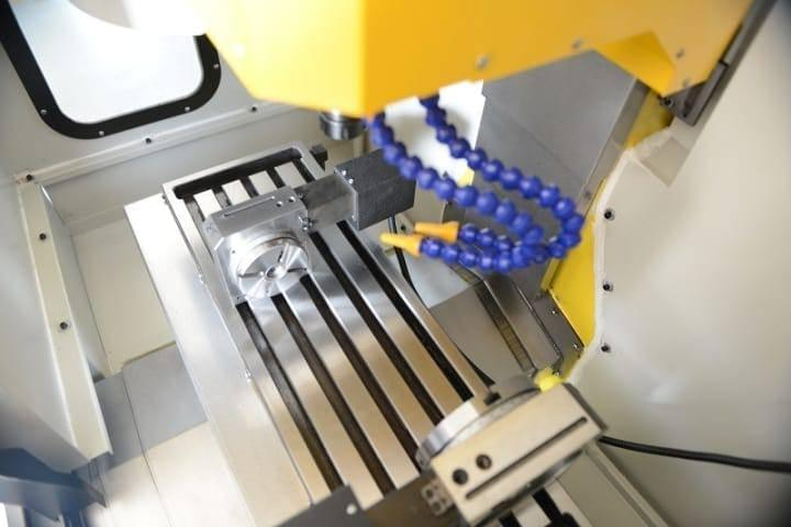 compact CNC milling machine