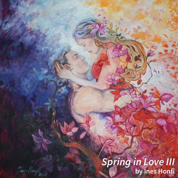 Spring in Love III by Ines Honfi