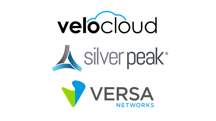 Velocloud, Silver Peak, and Versa