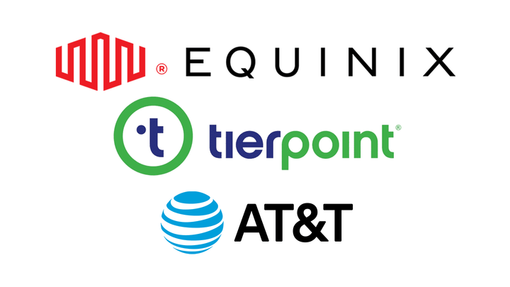 Equinix, tierpoint, and AT&T
