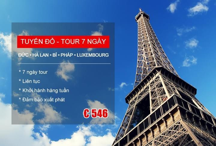 TOUR GHÉP CHÂU ÂU Khởi hành hàng ngày 2