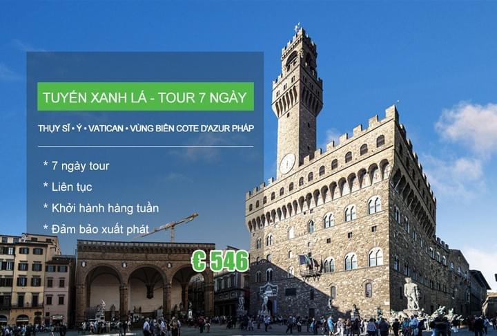 TOUR GHÉP CHÂU ÂU Khởi hành hàng ngày 3