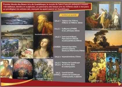 flyer-expositions-musee-beaux-arts-saint-francois-guadeloupe