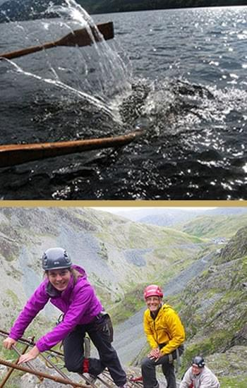 adventure family days out in the Lake District including Honister Slate Mine