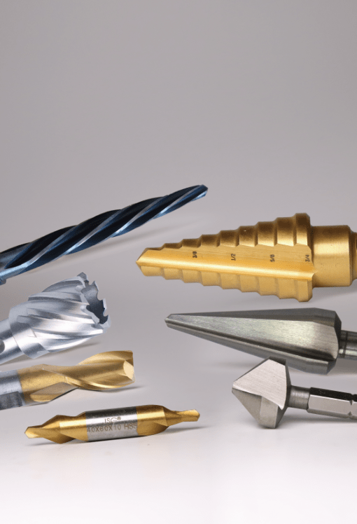 SPECIAL DRILL BITS, HSS STEP DRILL BITS, HSS CENTER DRILL BITS, HSS COUNTERSINKS, END MILLS, SHEET DRILLS, REAMERS, ANNUAL CUTTERS