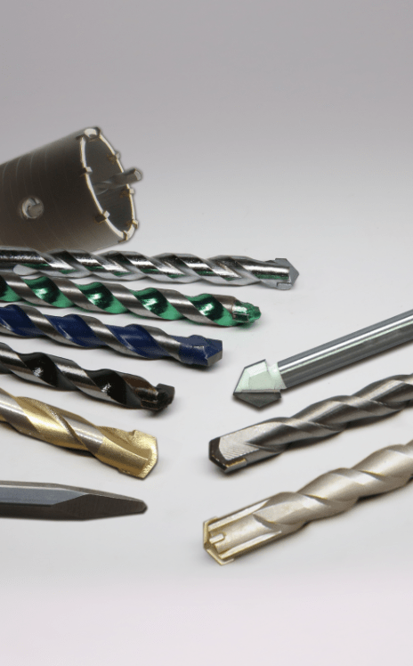 concrete drill bits, masonry drill bits, sds drill bits, chisels, hole cutters, TCT hole cutters