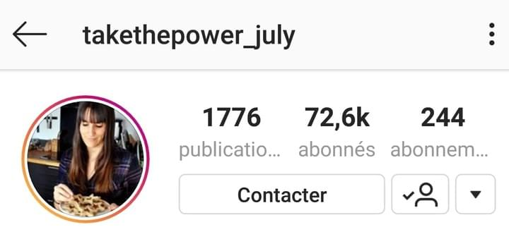 Takethepower_july instagram éthique eleos
