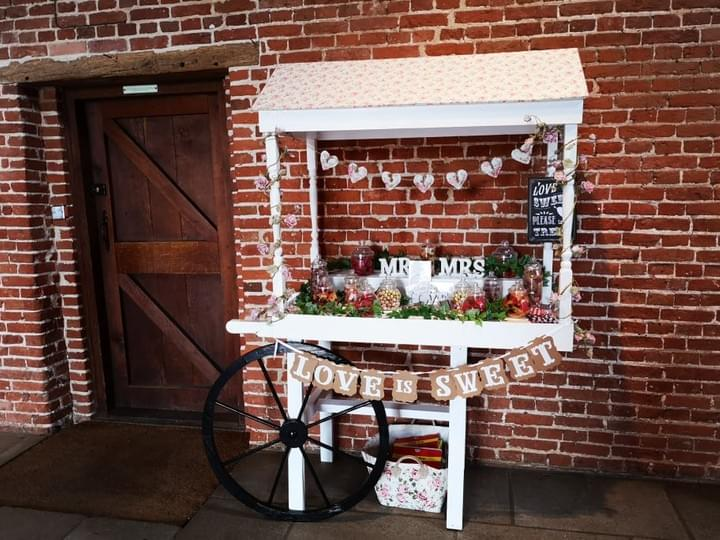 Suffolk Wedding Events Sweetie Cart and Jars