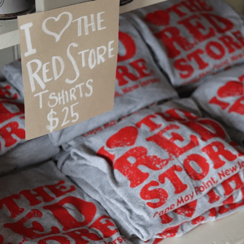 The Red Store Cape May Lucas Manteca