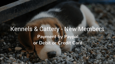 IBKCA payment for new members - Kennels & Cattery