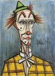 Bernard buffet clown Maison Good