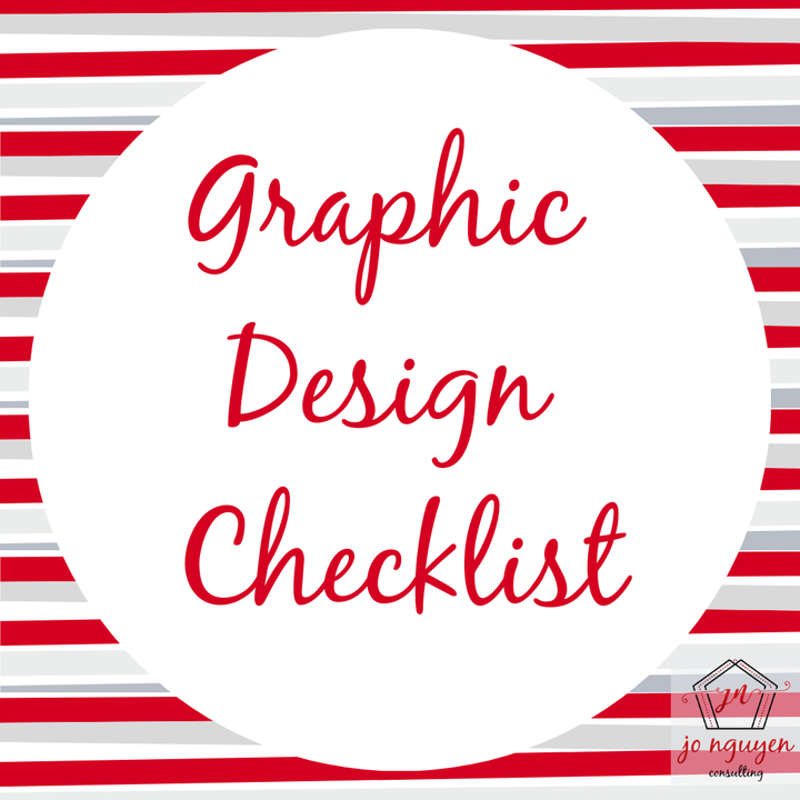 Free Graphic Design Checklist