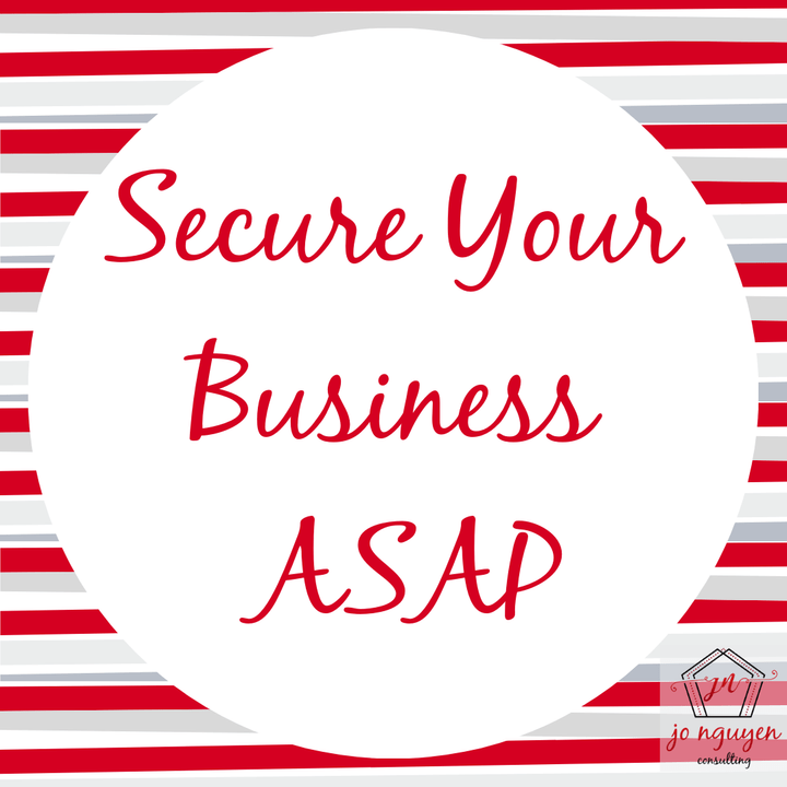Free tips to secure your business ASAP