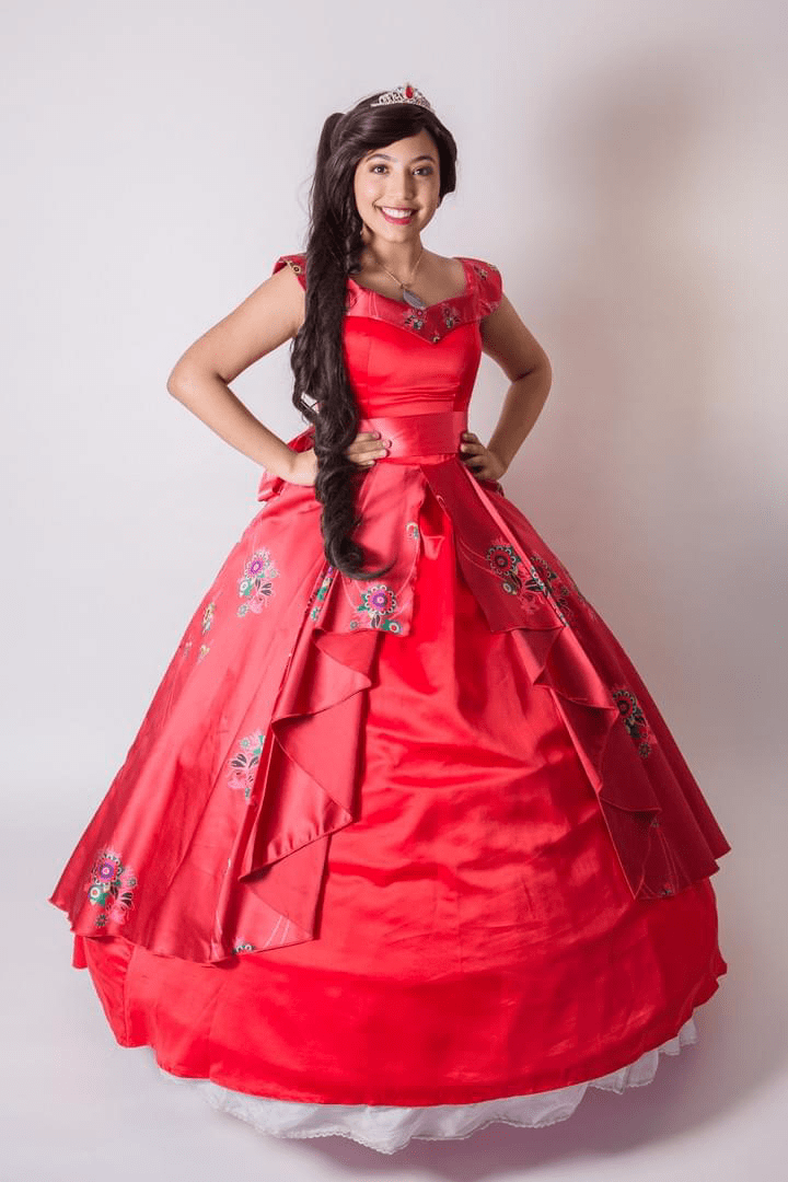 Disney Princess Queen Elena of Avalor Character Performer Kids Birthday Party in Edmonton