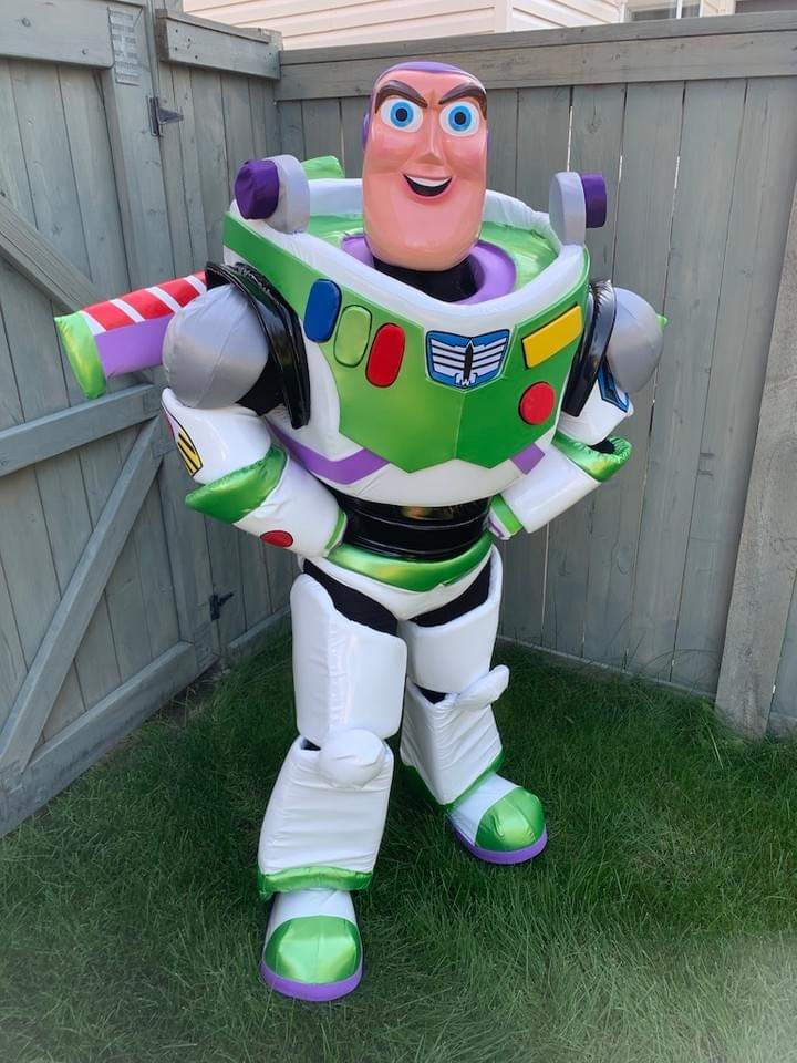 Disney Pixar Toy Story Buzz Lightyear Character Performer Kids Birthday Party in Edmonton