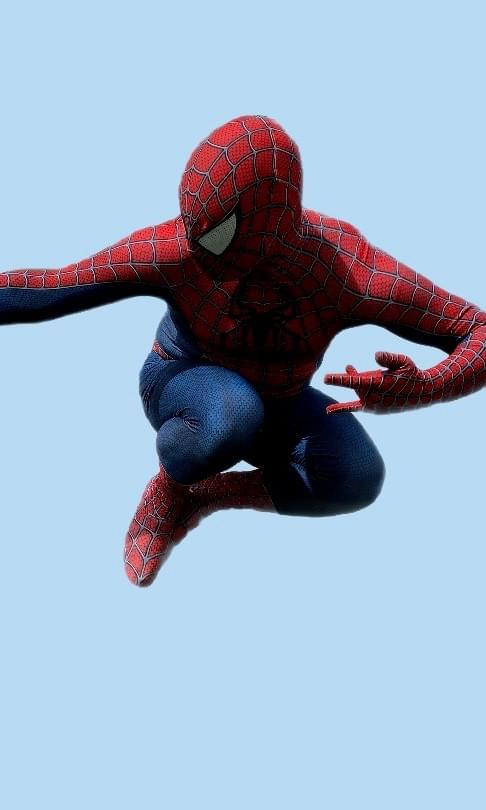Spider Man Marvel DC Comics Super Hero Character Performer Kids Birthday Party in Edmonton