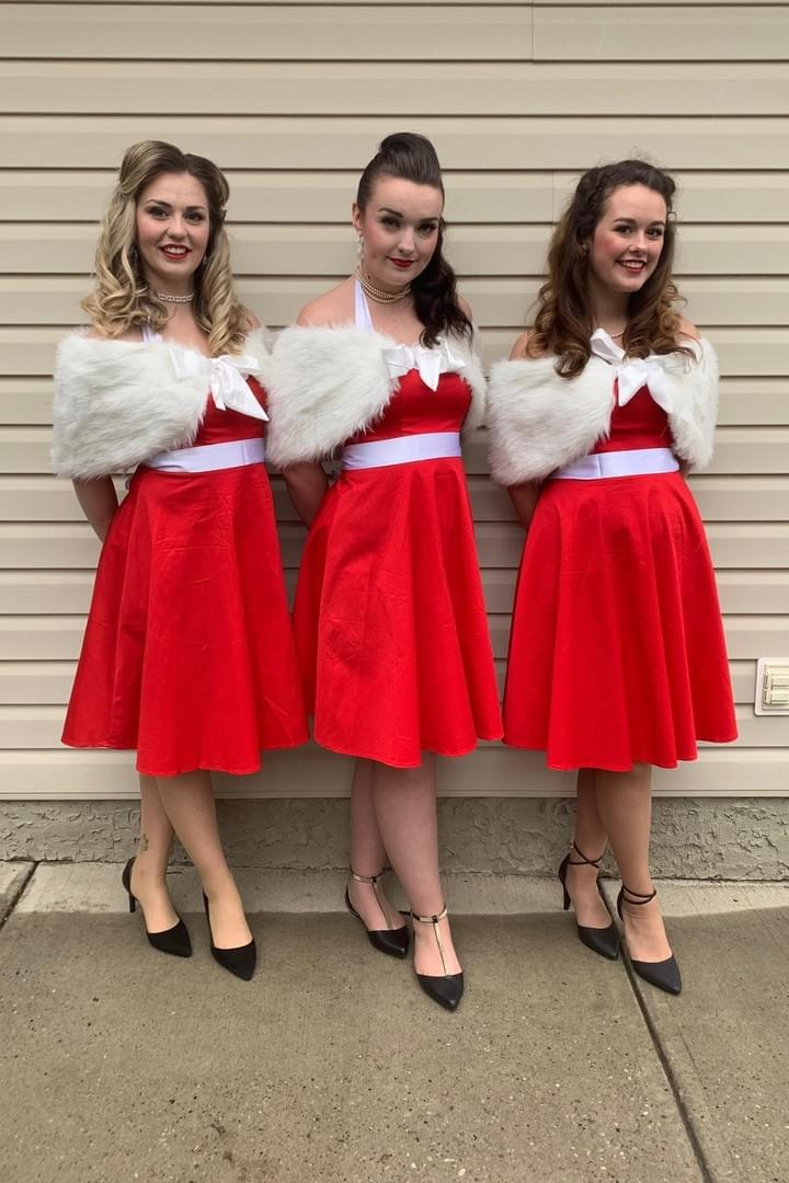 Singing Vocal Trio Holiday Performer Christmas Carolers Edmonton Live Entertainment