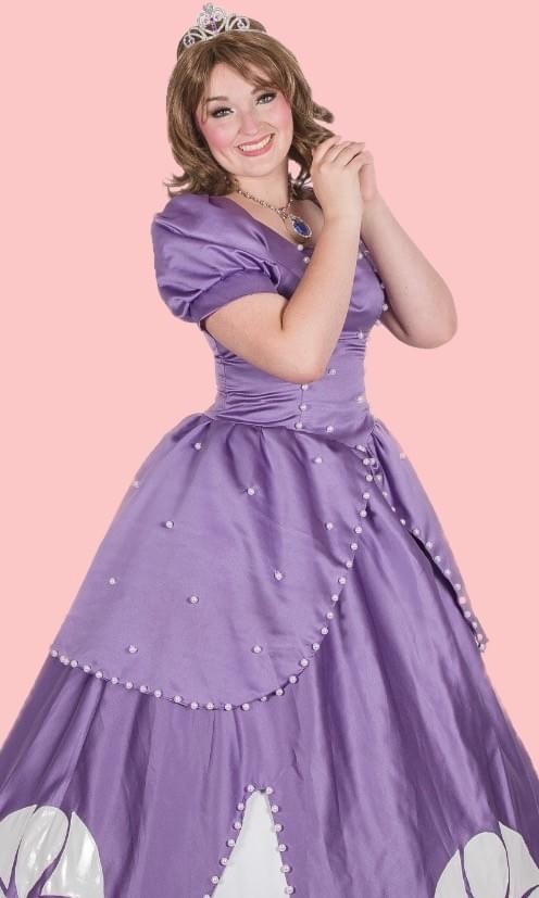 Disney Princess Sofia the First Character Performer Kids Birthday Party in Edmonton