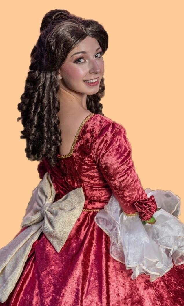 Disney Princess Belle Beauty and the Beast Holiday Character Performer Kids Birthday Party in Edmonton