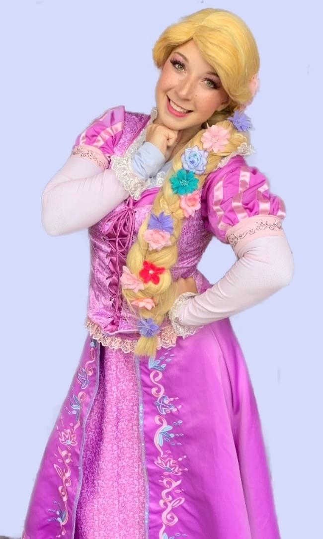 Disney Princess Rapunzel Tangled Character Performer Kids Birthday Party in Edmonton