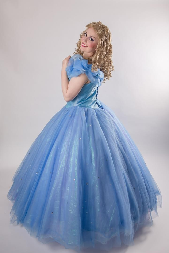 Disney Princess Cinderella New Live Action Ella Character Performer Kids Birthday Party in Edmonton