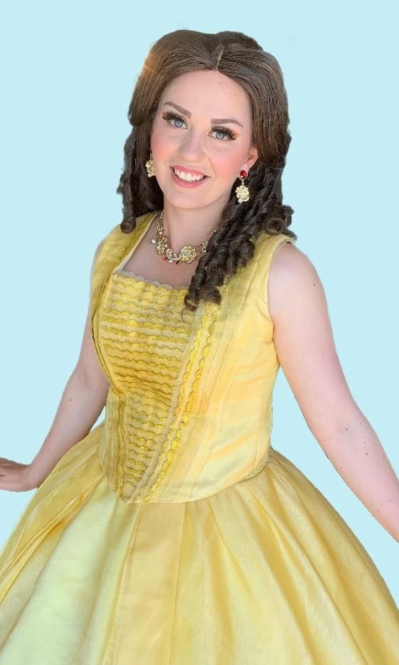 Disney Princess Belle Beauty and the Beast Character Performer Kids Birthday Party in Edmonton