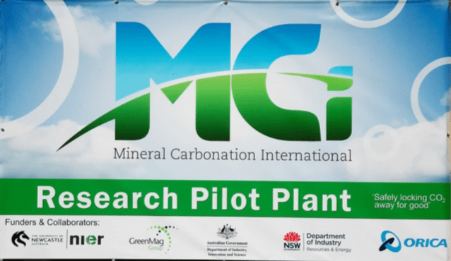 Pilot Plant is located in Newcastle Australia.