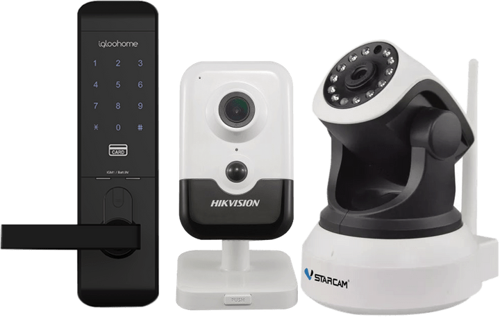 igloohome | Hikvision | VStarcam | IP Camera | CCTV | Surveillance Camera | IP Camera | Smart Lock | Digital Lock | Digital Smart Lock |