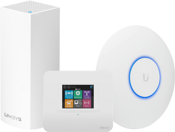 Networking Solution | Linksys | Almond 3 | Ubiquiti Solution