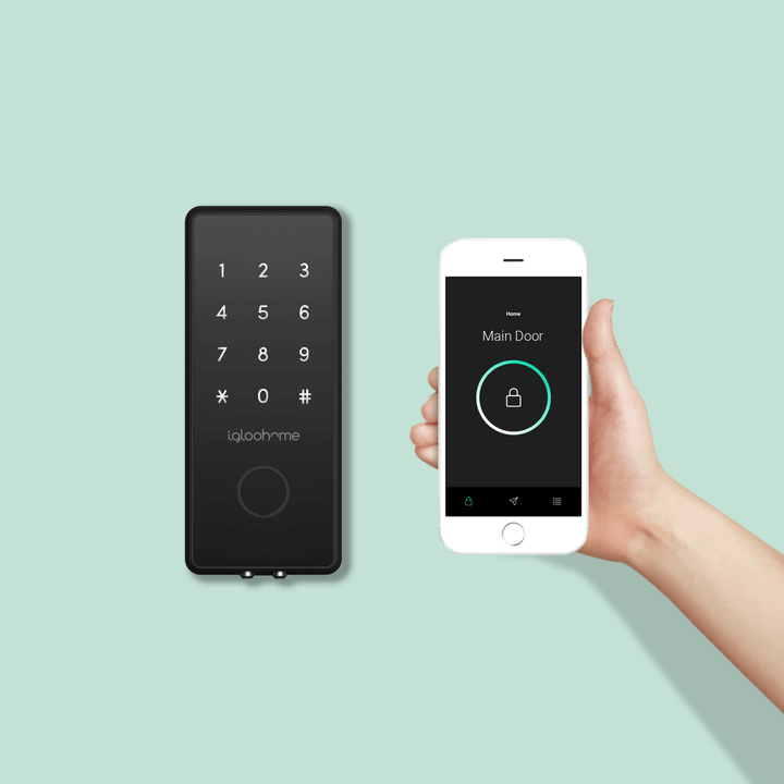 igloohome Smart Lock | Digital Lock | Smart digital Lock | Secure Digital Lock