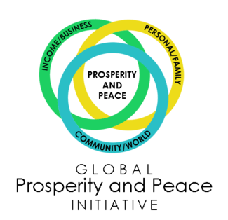 Global Prosperity and Peace Initiative logo and link to website