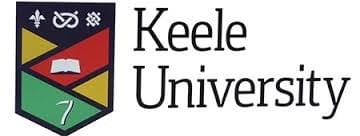 Keele University logo and link to website