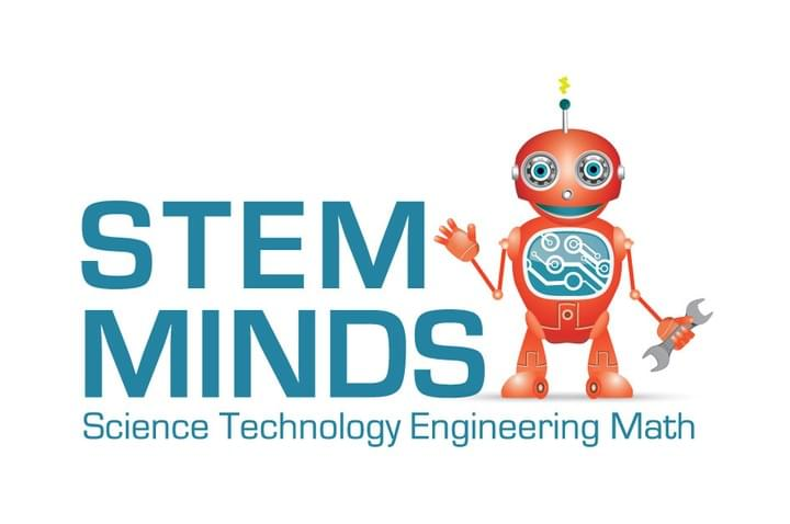 Stem Minds logo and link to website