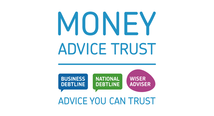 Money Advice Trust logo and link to website