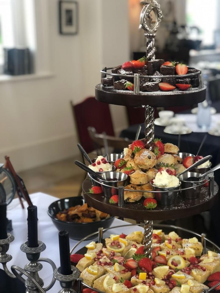 Afternoon Tea at Carriages cafe Newark