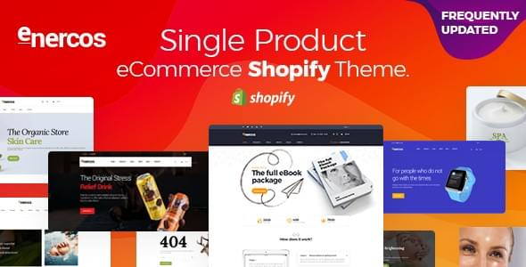Enercos - Single product Shopify Theme