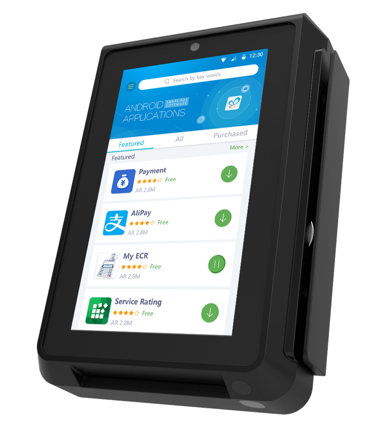 PAX IM30 Android-based self-service solution