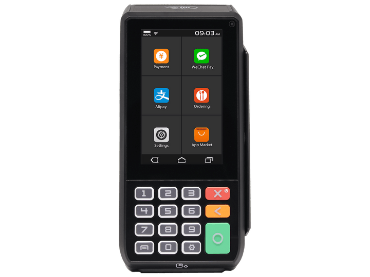 PAX A80 Android terminal in black