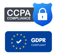 GDPR and CCPA compliant