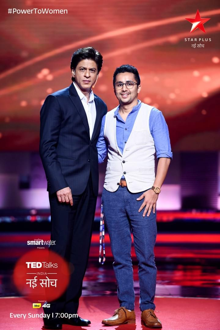 TED Talks with Shah Rukh Khan and Mihir Shah - UE LifeSciences