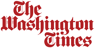 The Washington Times logo (in red)