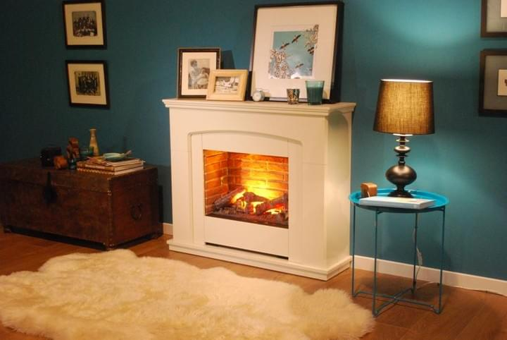 Dimplex living flame fires in stock at M&G Energy