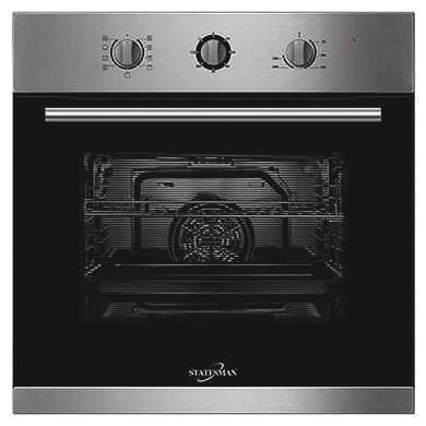 Statesman BSF60SS Built-in Fan Oven