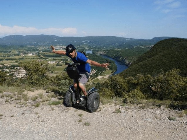 Segway trip in Ardèche French Provence
