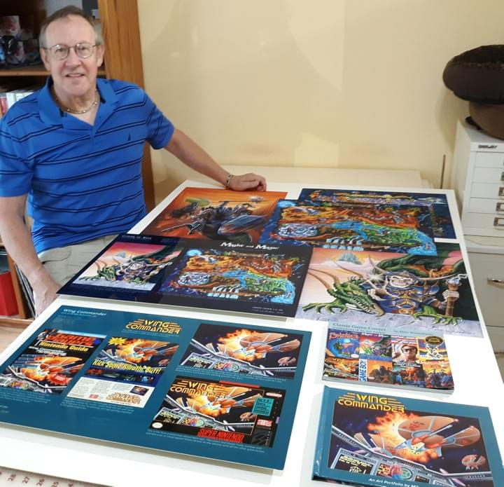 Classic Game Covers Art Portfolio KickStarter